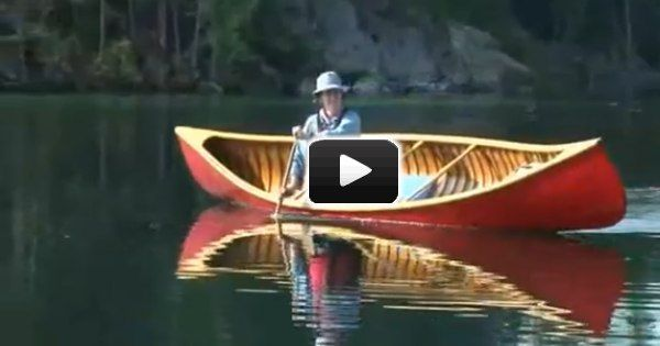 Becky Mason Demonstrates The Useful Canoe Sculling Draw Stroke In This Short Canoe Trip Canoe Camping Kayaking