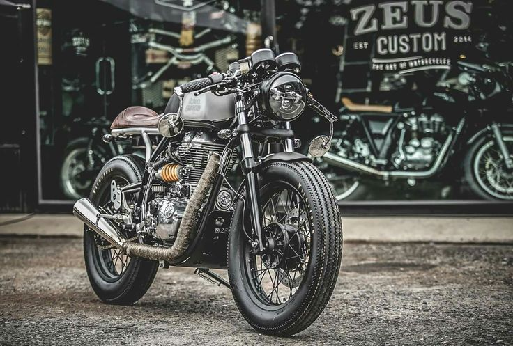 Royal Enfield Continental GT535 custom by ZEUS