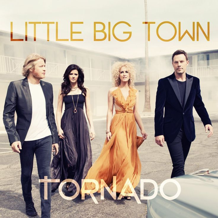Tornado / by Little Big Town / Pavement ends -- Pontoon -- Sober -- Front porch thing -- On your side of the bed -- Leavin' in your eyes -- Tornado -- On fire tonight -- Can't go back -- Self made -- Night owl