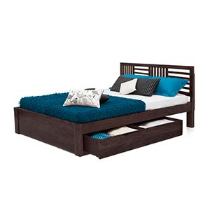 CHANTILLY STORAGE BED (MAHOGANY FINISH)