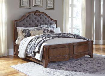 In By Ashley Furniture In Livingston, LA   Balinder   Medium Brown 3 Piece  Bed Set (King).