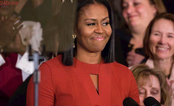As pessoas não deixam de acreditar que Michelle Obama seria uma ótima presidente dos EUA