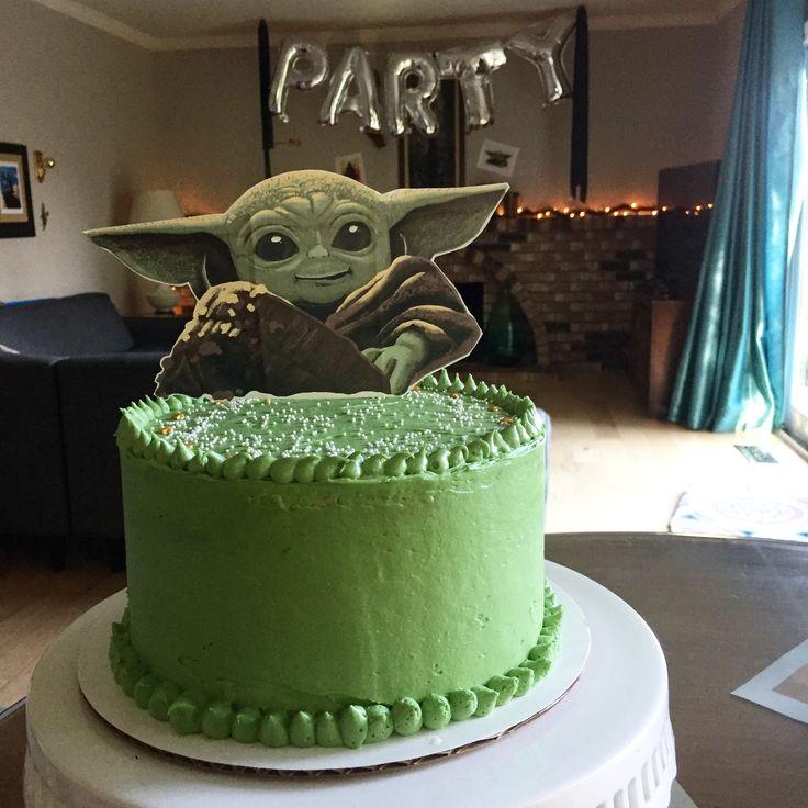 Baby Yoda Cake! in 2020 | Yoda cake, Cake, Its my birthday