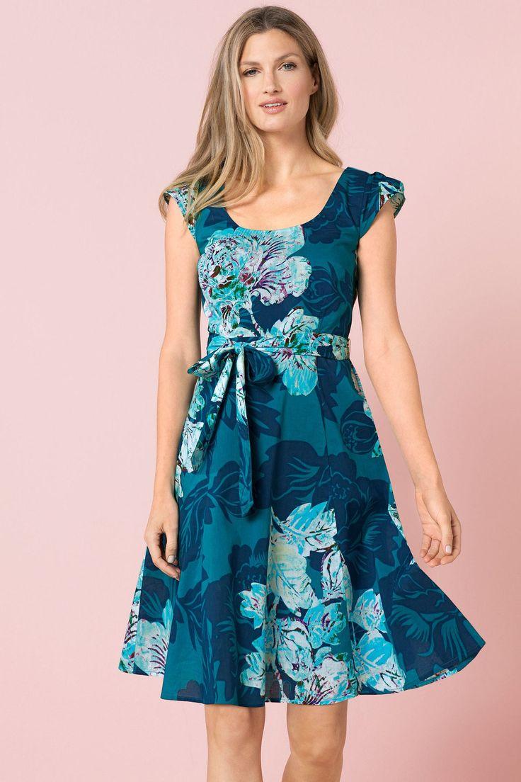 Capture Cotton Tea Dress Online | Shop EziBuy