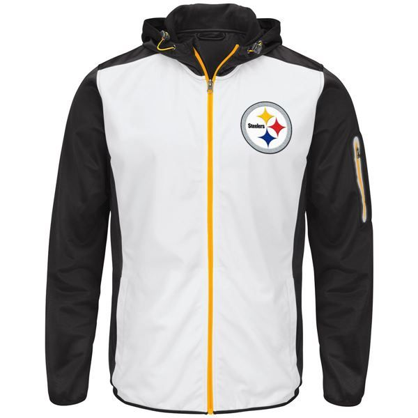 Picture of Pittsburgh Steelers GIII Composition Hooded Jacket