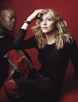 Through The Looking Glass: Madonna by Annie Leibovitz, 2007 #Celebrities