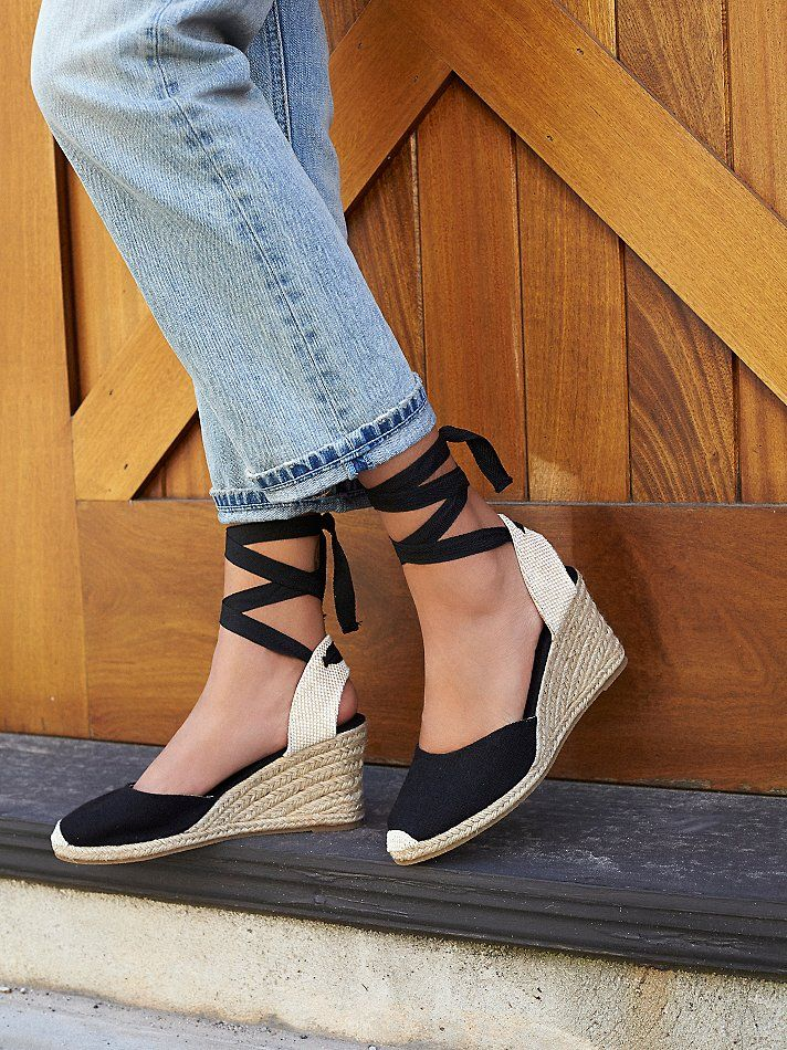 Soludos Naples Espadrille Wedge at Free People Clothing Boutique