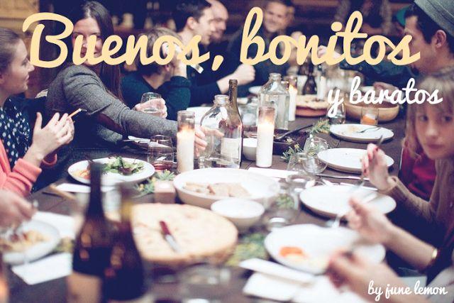 Restaurantes buenos, bonitos y baratos de Madrid