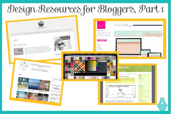 We're giving bloggers the rundown on design resources that can't miss: from free layouts and blog templates, to inexpensive fonts, to photoshop tutorials.