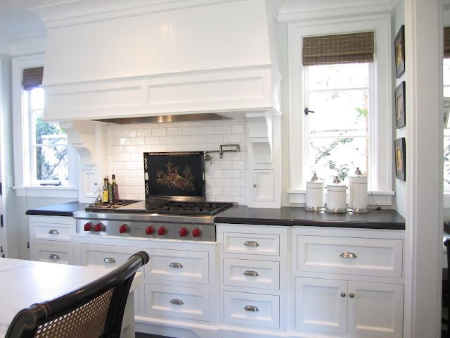 """The Counters Are From Walker Zanger (black Honed Granite"