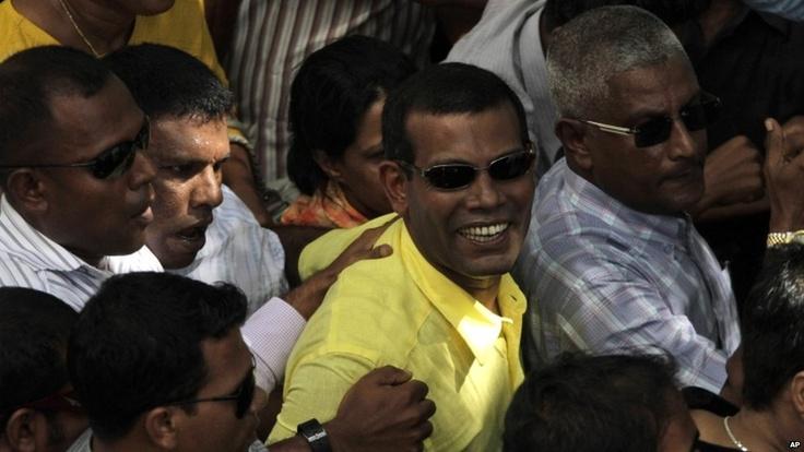 Mohamed Nasheed, 8th February 2012
