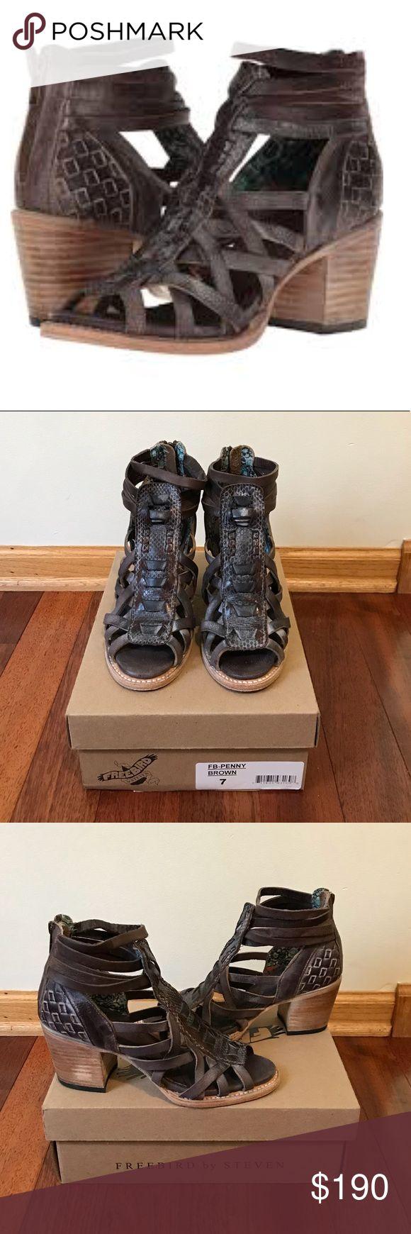 I just added this listing on Poshmark: Freebird Penny Sandal Size 7. #shopmycloset #poshmark #fashion #shopping #style #forsale #Freebird by Steven #Shoes