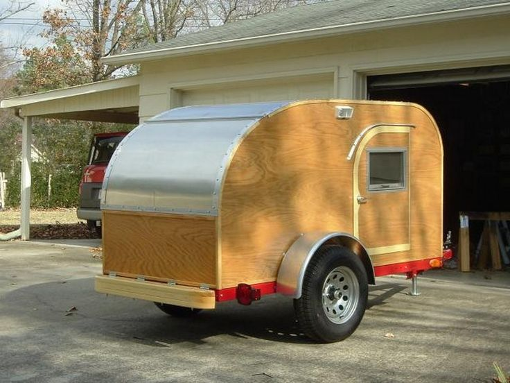 If you love the idea of your own camper trailer, but don't like the price tag, you can always build your own. Not everyone enjoys camping in a tent. Some of us prefer to have the basic amenities a home offers. A camper trailer is perfect for this as it has everything you need in a home while you're enjoying the great outdoors. This teardrop trailer measuring 4×8′, can accommodate two people for sleeping. What's nice about this trailer is that it can be towed by just about any car because of…