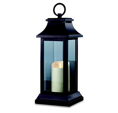 We're illuminating our outdoor space with these trendy yet classic lanterns.