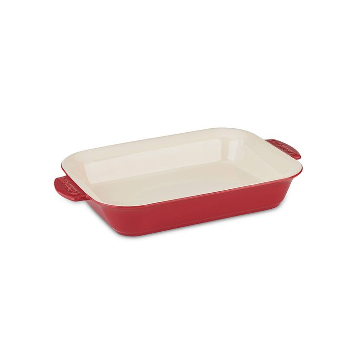 Cuisinart Chef's Classic Ceramic Bakeware Rectangular Baker, Red