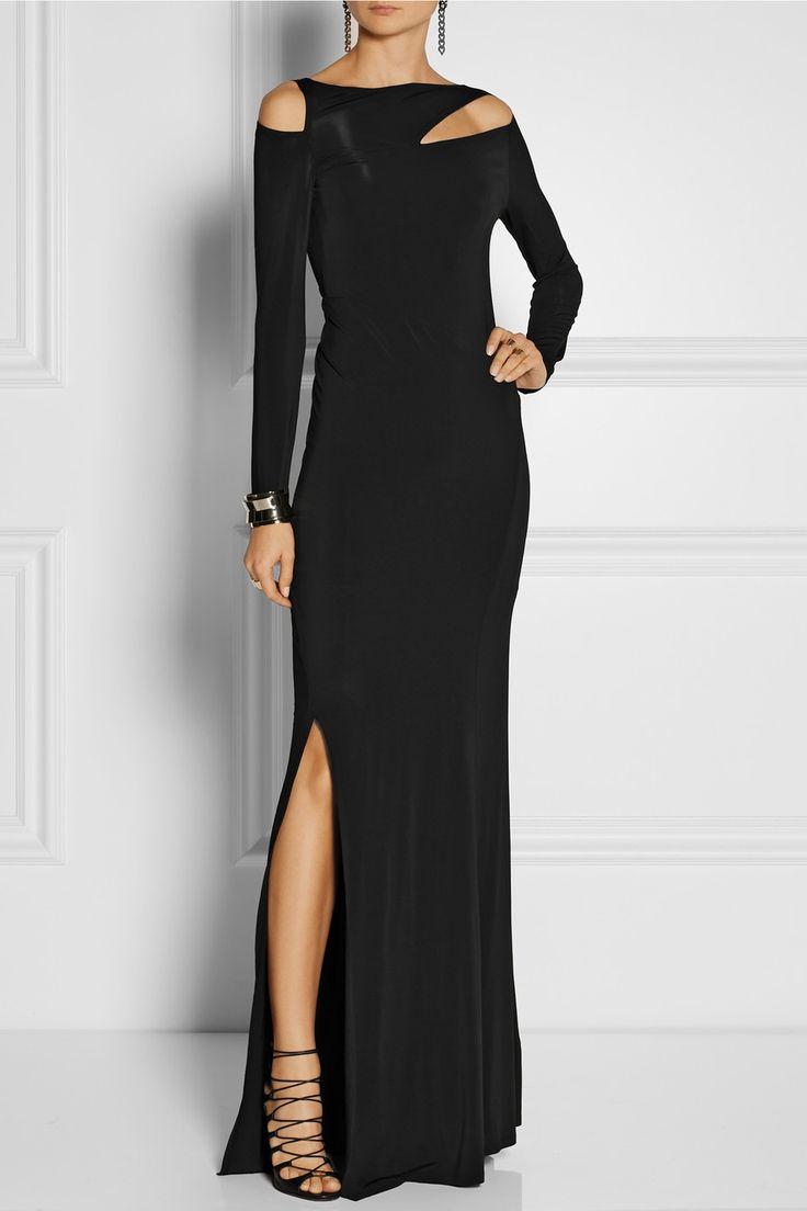 Donna Karan | Виріз сукні стрейч-джерсі | NET-A-PORTER.COM