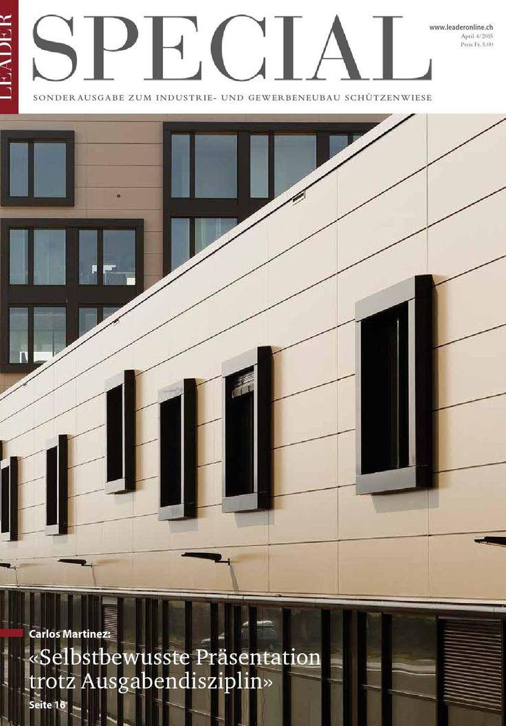 #LEADER: Neubau #Schützenwiese Kriessern 2015 |#CarlosMartinezArchitekten
