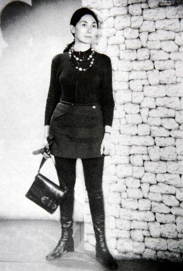 Julia Kristeva, étudiante à Paris