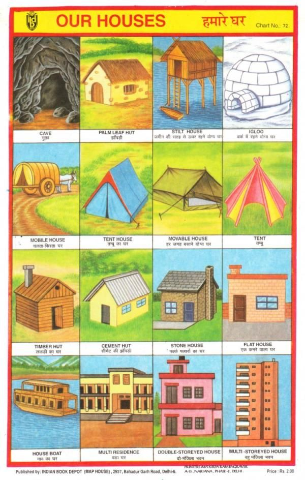 Our houses around the world