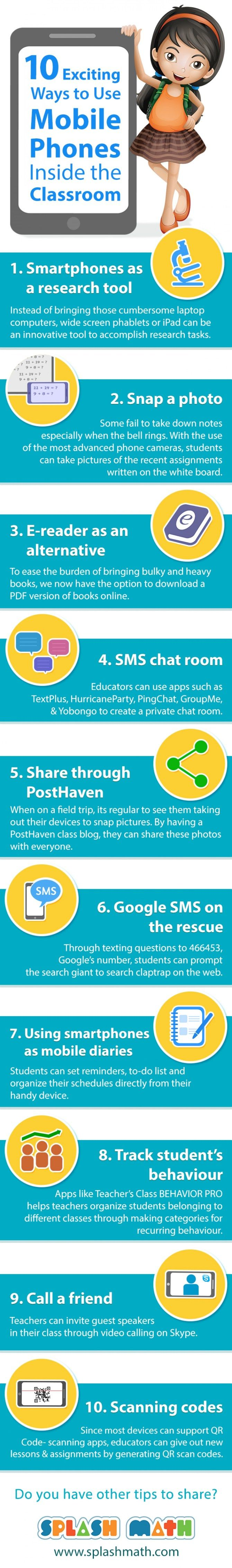 10 Exciting Ways to Use Mobile Phones Inside the Classroom