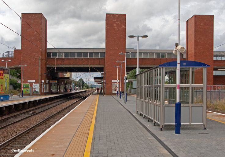 Stevenage Railway Station:The Three Towers  The original was near the old town of Stevenage but  new station was built nearer the town centre. I love the three towers which enclose the lift shafts it does look like something out of The Lord Of …