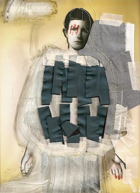 Eugenia Alejos's Collage Illustrations