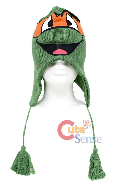 Click to Enlarge Ninja turtle hat, Christmas ornaments, Hats
