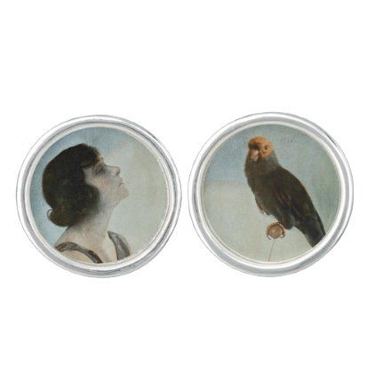 NORMA TALMADGE CUFFLINKS - glamour gifts diy special unique