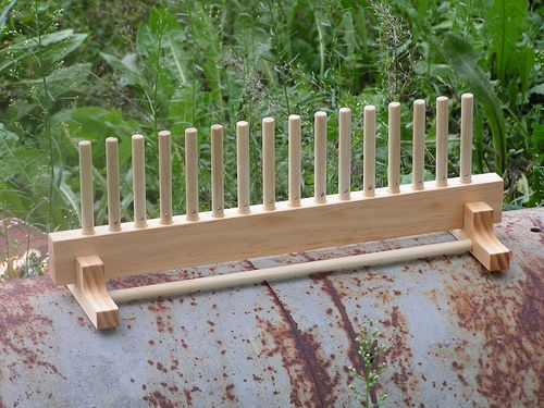 Peg loom with stand | Here is a ped loom with a stand that y… | Flickr