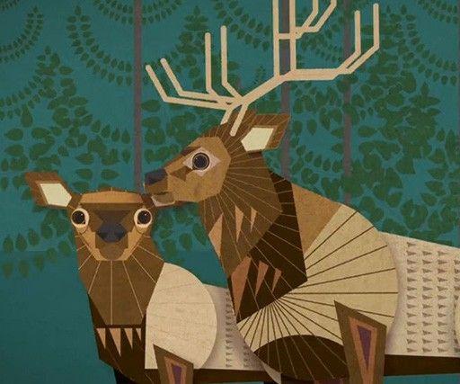 51 Best Digital Art 2 Vector Animal Pattern Images On