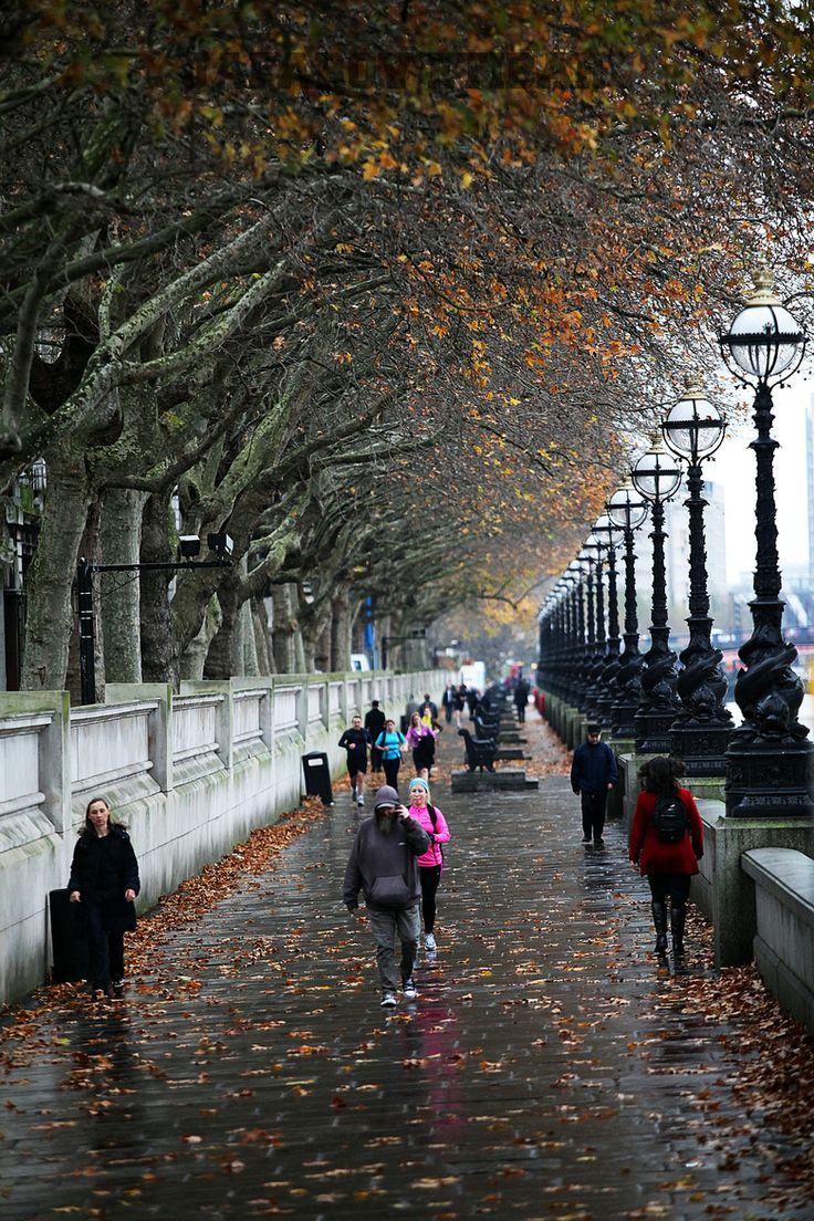 Rainy days in London