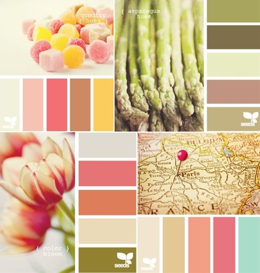 color schemes. the map scheme is interesting, and inspiring