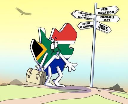 South Africa is fast becoming a dystopian country as it finds itself adrift on a storm-tossed sea of political and economic uncertainty. This speaks to the betrayal of the priceless legacy created through the sacrifices made by countless freedom fighters.#southafrica