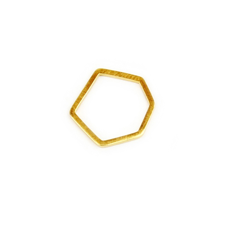 Noot Bijoux gold geometric ring