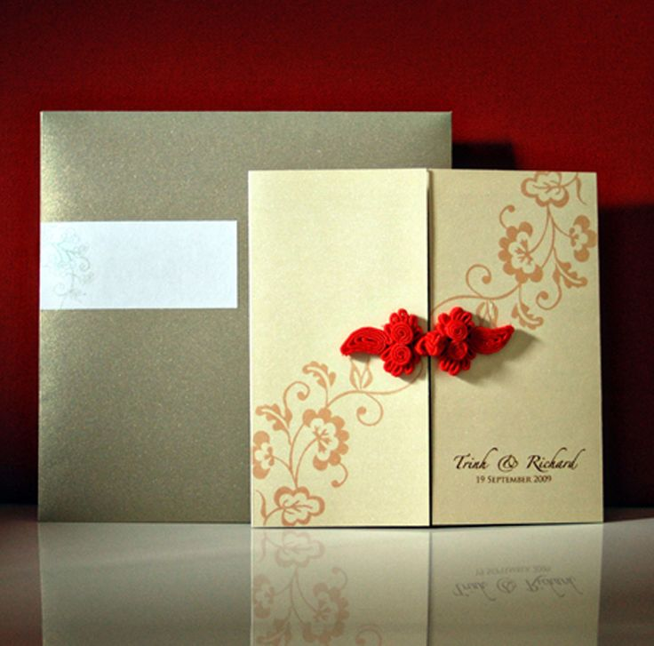 lotus flower wedding invitations%0A Business Invitation  Wedding Invitation Cards  Natural Style Weddings  One  Tree  Natural Styles  Knot  Red  Celery  Saga