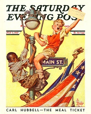 Sat Eve Post Cover ILL.  July 3 1937  by  J.C. Leyendecker...