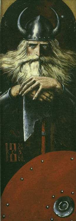 Скандинавский воин / Scandinavian warrior