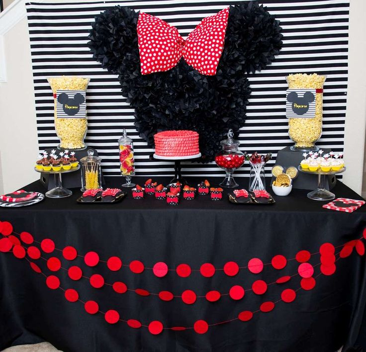 78 Best Images About Minnie Mouse Party Ideas On Pinterest