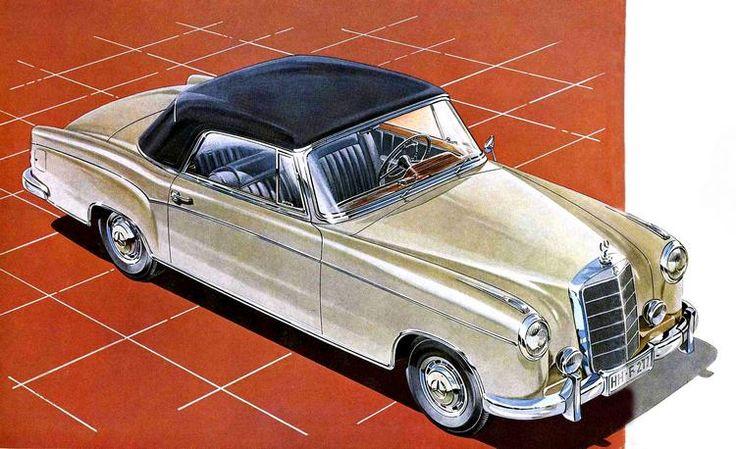 Mercedes 220, 1957