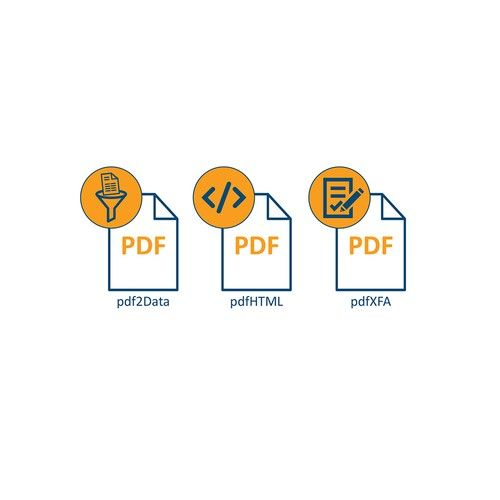 New product icons for iText We are a PDF library for
