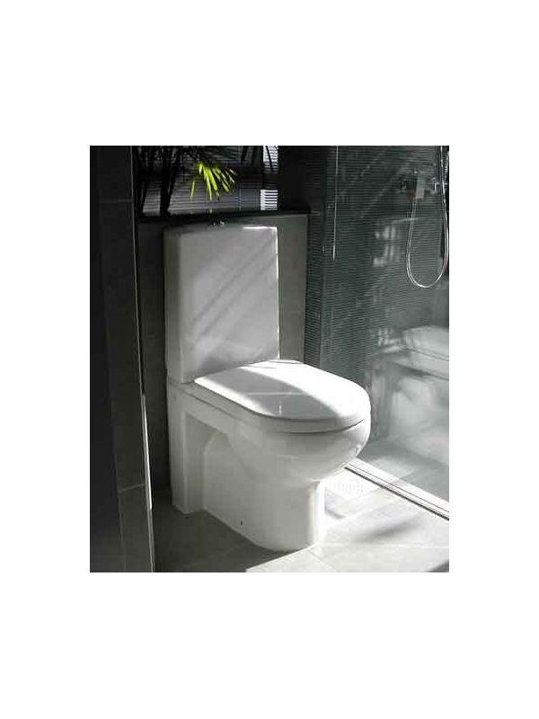 6022914 Gustavsberg 4300 Gustavsberg Artic 4300 Gulvst. toalett Med myktlukkende sete og lokk, S-lås
