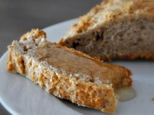 Rieska (finnish Rye Bread) With Dark Rye Flour, All-purpose Flour, Baking Powder, Salt, Unsalted Butter, Buttermilk
