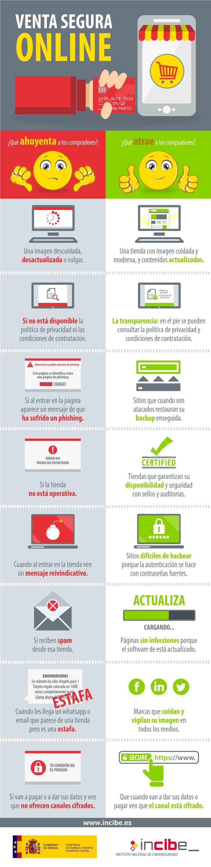Venta segura online #infografia