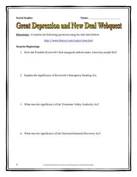 HELP WITH THESIS: The Great Depression and 1920's?