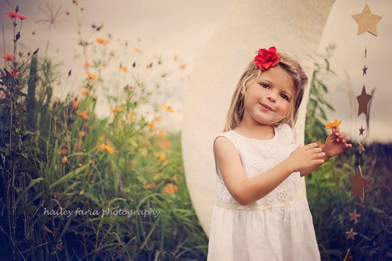 Ivory flower girl dress Vintage style white by SnowflakeLinen, $58.00