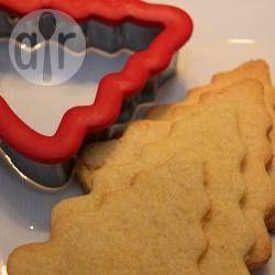 Biscoito de Natal amanteigado @ allrecipes.com.br