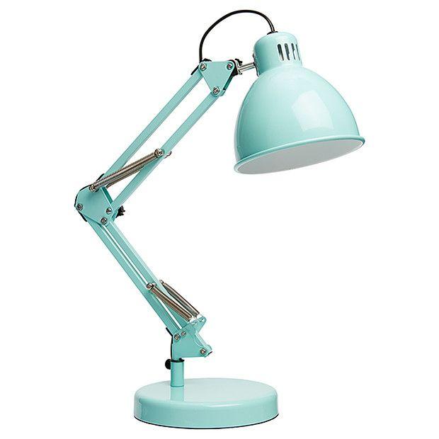 Washington 2 in 1 Metal Desk Lamp - Blue | Target Australia