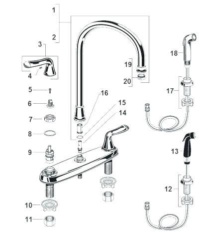 Faucet Repair Parts Moen Faucet Repair Kits Qzshmft Info