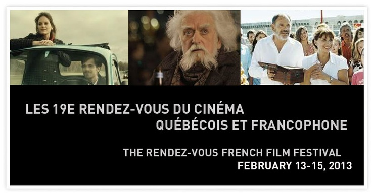 THE RENDEZ-VOUS FRENCH FILM FESTIVAL