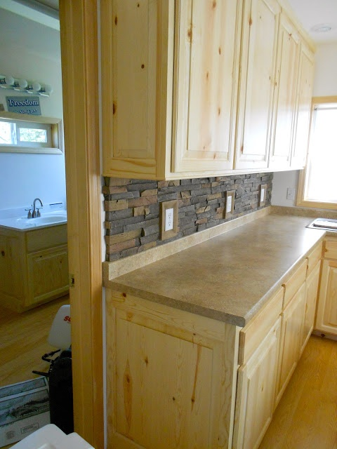 16 best images about knotty pine cabinets kitchen on pinterest for Boat kitchen cabinets